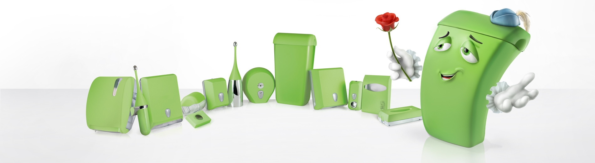 GREEN slide top grande