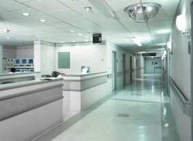 Medical Center Hallway, New York City