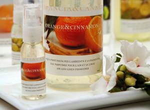 Apa parfumata cu aroma de portocale si scortisoara - Allegrini